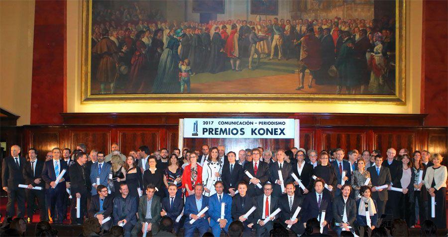 Diplomas al Mérito de los Premios Konex 2017 a la Comunicación - Periodismo